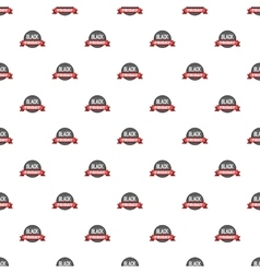 Label black friday pattern cartoon style vector