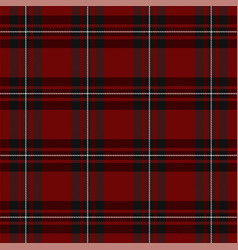 Macgregor tartan scottish cage background vector