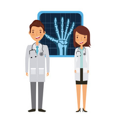 Medical doctors design vector