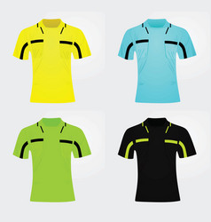referee jersey vector image
