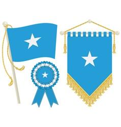 Somalia flags vector