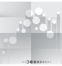 Paper Circle Background vector image
