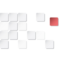 grey geometric texture with squares vector image