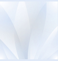 Abstract white background with waves and shadows vector