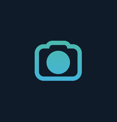 Camera icon photographing concept stock isolated vector