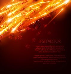 Glowing background vector