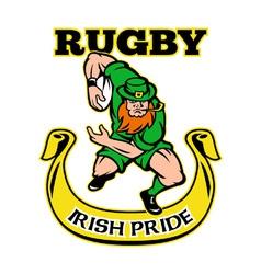 Irish rugpride vector