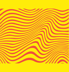 Modern abstract yellow and red background vector