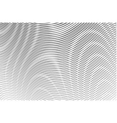 Monochrome abstract gradient background with moire vector