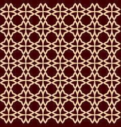seamless geometric line pattern contemporary vector image