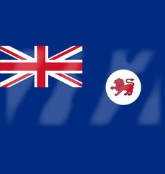 Tasmania flag vector