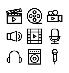 Video and audio vector