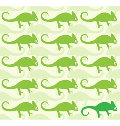 Wallpaper images of chameleon vector image vector image