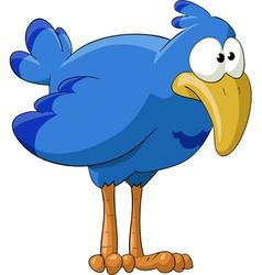 fun bluebird vector image vector image