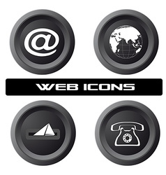 Phone icons vector image