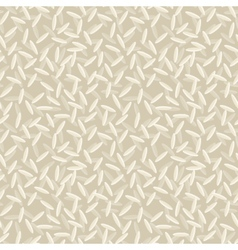 Rice seamless pattern vector image vector image