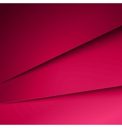 Abstract purple paper layers background vector