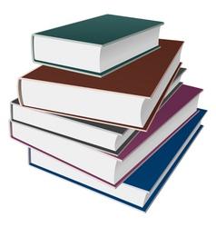 Books notebooks vector