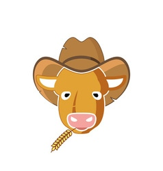 Calf-380x400 vector image