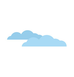 cloud weather sky climate image vector image