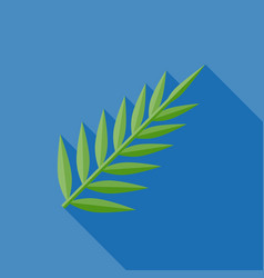 palm or fern vector image