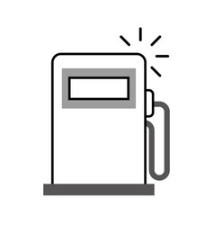 Station service pump icon vector