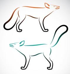 Fox vector image vector image