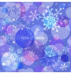Seamless colorful christmas pattern vector image vector image