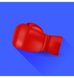 Red Boxing Glove vector image