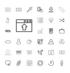 33 app icons vector