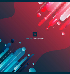 abstract geometric gradient shapes composition vector image