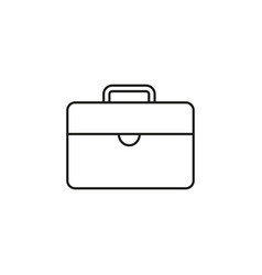bag of work icon vector image