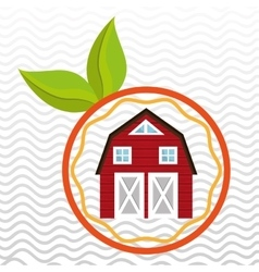 farm food ranch nature vector image