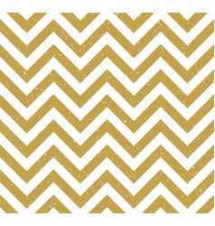 Gold grunge chevron pattern background vector