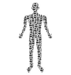 Spy person figure vector