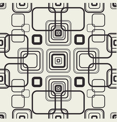 squares mesh background vector image