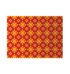 thai painting pattern vector image