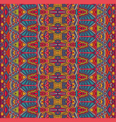 tribal abstract geometric ethnic seamless pattern vector image