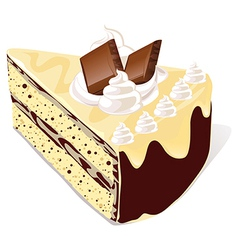 cafe cake vector image