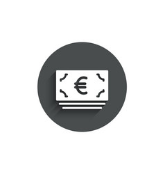 cash money simple icon banking currency vector image