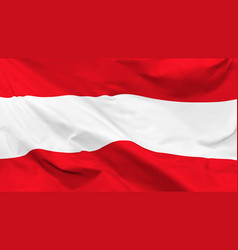 flag republic austria background vector image