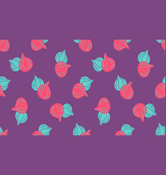 Seamless pattern figs virtual background for vector