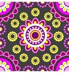 seamless sunflowers vector image