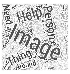 Should I get An Image Consultant Word Cloud vector