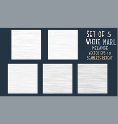 White grey marl heather texture background faux vector