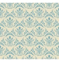 Background vintage Seamless wallpaper floral vector image