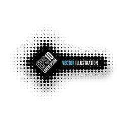 Halftone Banner vector image vector image