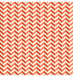 Seamless retro abstract red toothed zig zag paper vector