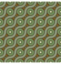 cross wave background vector image
