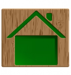 healthy house vector image